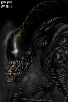 Grid Alien In The Shadows by GRIDALIEN