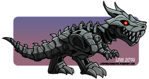 ::Grimlock - Age of Extinction:: by Lorddragonmaster