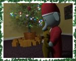 Dancing infront of the Christmas tree by ChristopherReality
