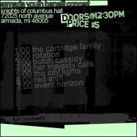 OLD show flyer. by JamesRuthless