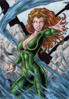 DC Comics 'The New 52' - Mera by tonyperna