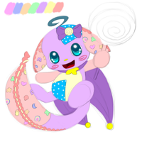 *Re-uploading* OLD Art: Plushie Kacheek by Sarilain