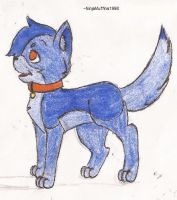 Floodwater as a Kittypet by NinjaMuffins1998