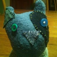 Moggie by embroideredcobwebs