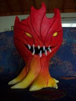 Calcifer by quoth-le-corbeau