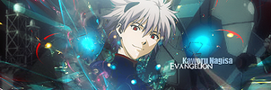 Kaworu Nagisa Sign 2 by Lucarity