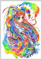 Crazy colours by Haalu