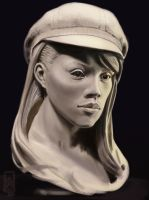 Study of a Sculpted bust by Nicksketch