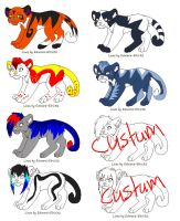 big cat adopts(open) by kittycat-adopts