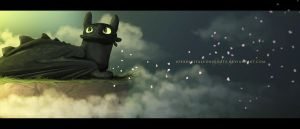 Toothless by apexdigitalconquests