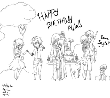 Happy Birthday, Syel!! by Raschapelle