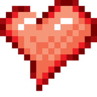 Pixel Heart by DigiZoo