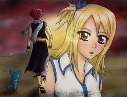 FT_Nalu_Wait for me by Angelx0fxHell