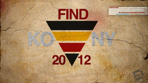 KONY 2012 Wallpaper by Chadski51