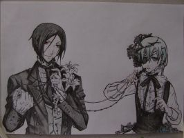 Sebastian and Ciel by SebbyFan