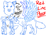 Izo Ref WIP (Red Line Please?) by BlueWaterRose