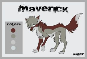 Maverick Ref Sheet by Flame-Expression