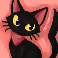 Doodle - kittycat by Flavia-Elric