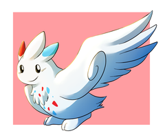 Day 5: Togekiss by snuddi