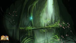 Moss Cavern by BABAGANOOSH99