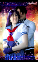 Kyo and Athena sweet Cosplay (2) by Blueblood2