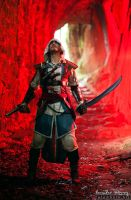 Red Fury Edward Kenway AC IV Cosplay by Leon Chiro by LeonChiroCosplayArt