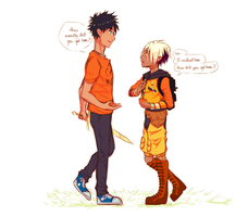 PJO and TSS: crossover by Washichan