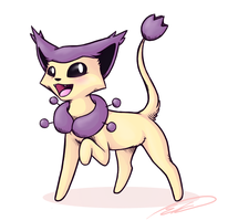 Delcatty by Feline-Basilisk