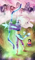 [for sale] Steven Universe: OPAL by prpldragonart