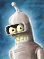 Let's Paint...Bender. by Reillyington86