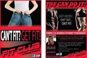 FIT CLUB ad by FrozenPinky