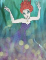Ariel as Ursula. by Nikmarvel
