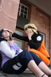 hinata-chan, you are okay??? by Dark-Uke