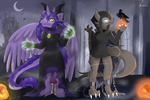 Collab: LuciaRayadra by TheLeatherDragonI