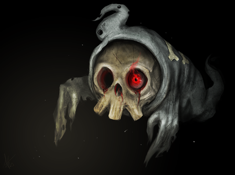 Duskull by Snook-8