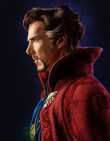 Doctor Strange - Fan Art 2 by AndromedaDualitas