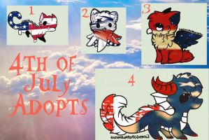 4th of July Adoptables (closed) by AdaptableAdoptables