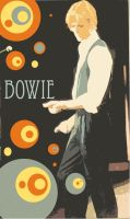 David Bowie Poster by ringo-flan