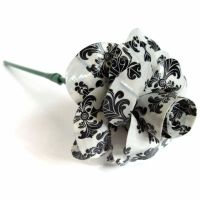 Baroque Printed Duct Tape Rose by DuckTape-Rose