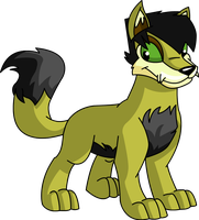 Trent The Lupe by skull1045fox