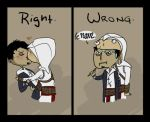 BL - Kissing level: Assassin by Silverdust-of-war