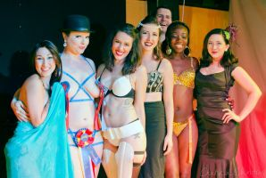 The Mischievous Madams Burlesque Troupe by MordsithCara