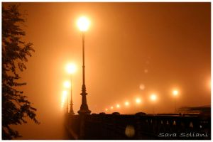Foggy night in Parma by psyki17