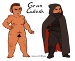 Dwarf reference by Osato-kun