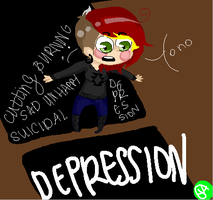 Depression by YourAdopted