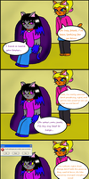 Fourth wall? What fourth wall? by LaLaLaNiceLady