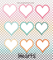 Hearts png by Yahi-m
