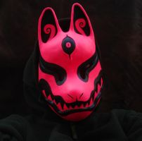 Black Light Fox mask by missmonster