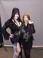 Elvira meet and greet Niagara comic con 2015 by VisualEyeCandy