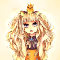 seeU (+lineart) by Miranduless